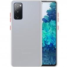 Накладка Totu Gingle Series Samsung Galaxy S20 FE (Белый)