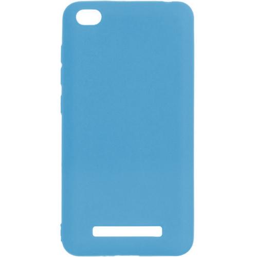 Силикон iNavi Color Xiaomi Redmi 4a (голубой)