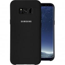 Силикон Original Case (HQ) Samsung Galaxy S8 Plus (Чёрный)