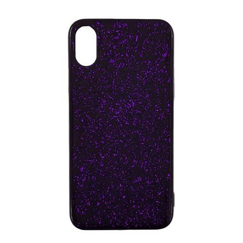 Накладка Confetti Apple iPhone XS Max (Фиолетовый)