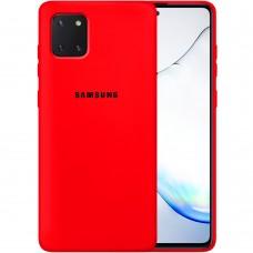 Силикон Original Case Samsung Galaxy Note 10 Lite (Красный)