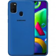 Силикон Original Case Samsung Galaxy M21 (2020) (Кобальт)